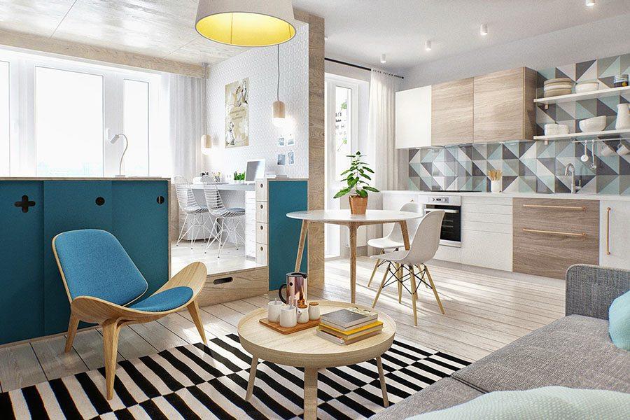 decorar-un-piso-pequeno-home-designing-continuidad-colores
