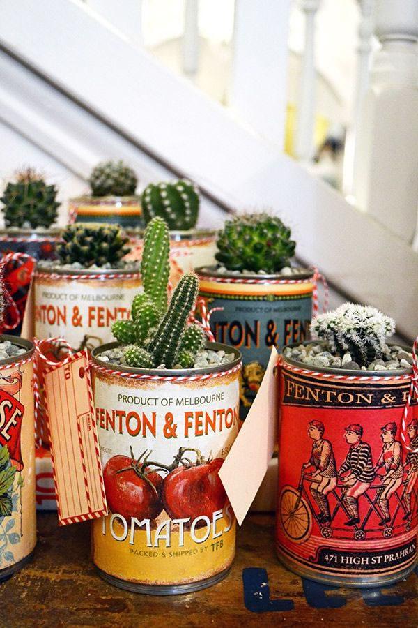 Tendencias de decoración cactus